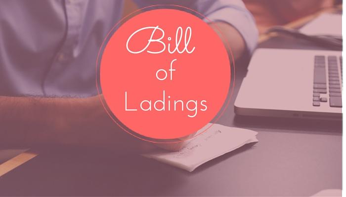 Bill of ladings